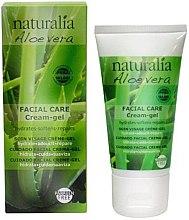 Parfumuri și produse cosmetice Cremă-gel de față - Naturalia Aloe Vera Facial Care Cream-Gel