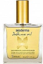Parfumuri și produse cosmetice Ulei nutritiv universal - SesDerma Laboratories Sublime Oil