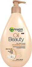 Parfumuri și produse cosmetice Loțiune pentru pielea uscată - Garnier Oil Beauty Body Lotion Dry Skin