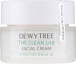 Parfumuri și produse cosmetice Cremă cu ceramide și acid hialuronic pentru față - Dewytree The Clean Lab Facial Cream