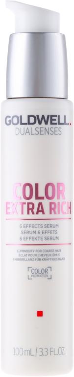 Ser intens pentru păr vopsit-conferă strălucire - Goldwell Dualsenses Color Extra Rich 6 Effects Serum