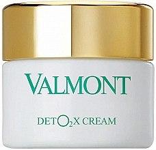 Parfumuri și produse cosmetice Cremă cu oxigen, detox pentru față - Valmont Deto2x Cream