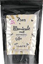 Parfumuri și produse cosmetice Scrub strălucitor cu cafea pentru corp - 7 Days Illuminate Me Miss Crazy Coffee Shimmering Body Scrub
