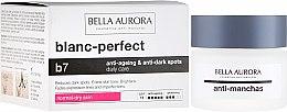 Parfumuri și produse cosmetice Cremă împotriva petelor pentru ten uscat - Bella Aurora B7 Dry Skin Daily Anti-Ageing Anti-Dark Spot Care