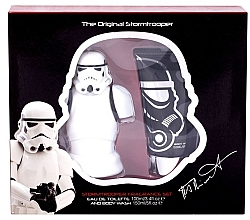 Parfumuri și produse cosmetice Disney Star Wars Stormtrooper - Set (edt/100ml + sh/gel/150ml)
