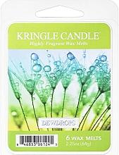 Parfumuri și produse cosmetice Ceară pentru lampă aromaterapie - Kringle Candle Dewdrops