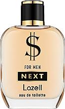 Parfumuri și produse cosmetice Lazell $ For Men Next - Apă de toaletă