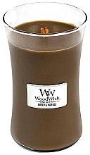 Parfumuri și produse cosmetice Lumânare aromatică - WoodWick Hourglass Candle Amber & Incense