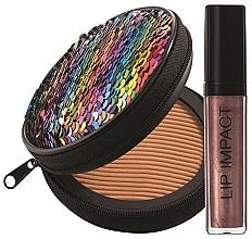 Parfumuri și produse cosmetice Set - NoUBA Sunlike Natural Tan №2 (f/powder/15g + lip gloss/6ml)