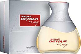 Parfumuri și produse cosmetice Al Haramain Detour Rouge - Apă de parfum