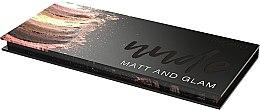 Paletă de farduri de ochi - Ingrid Cosmetics Nude Matt & Glam Palette — Imagine N3