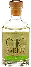 Parfumuri și produse cosmetice Dfiuzor aromatic - Chic Parfum Lime e Basilico Diffuser