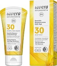 Parfumuri și produse cosmetice Cremă protecție solară pentru față - Lavera Sensitive Sun Cream Anti-Age SPF 30