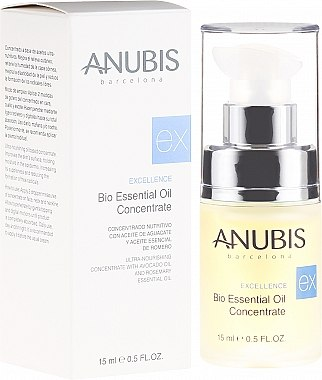 Concentrat cu uleiuri esențiale pentru față - Anubis Excellence Bio Essential Oil Concentrate — Imagine N1