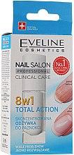 Parfumuri și produse cosmetice Tratament pentru regenerarea unghiilor 8in1 - Eveline Cosmetics Nail Salon Clinical Care 8 in 1