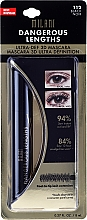 Parfumuri și produse cosmetice Rimel pentru gene în blister - Milani Dangerous Lengths Ultra-Def 3D Mascara