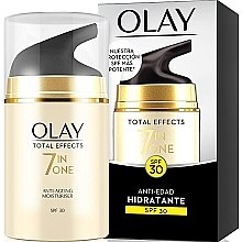 Parfumuri și produse cosmetice Cremă hidratantă de zi SPF30 - Olay Total Effects Anti-Edad Hidratante SPF30