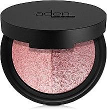 Parfumuri și produse cosmetice Fard de obraz în două nuanțe - Aden Cosmetics Blusher Duo