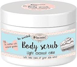 Parfumuri și produse cosmetice Scrub organic de corp cu nucă de cocos - Nacomi Body Scrub