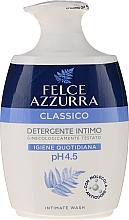 """Parfumuri și produse cosmetice Săpun lichid delicat pentru igiena intimă """"Clasic"""" - Felce Azzurra Classic Intimate Wash"""