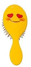 Parfumuri și produse cosmetice Perie de păr 2003W, smiley face - IDC Institute Design XL Detangle Brush