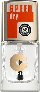 Fixator pentru unghii, cu efect de uscare rapidă - Delia Speed Dry Top Coat