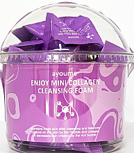 Parfumuri și produse cosmetice Spumă de curățare cu colagen - Ayoume Enjoy Mini Collagen Cleansing Foam