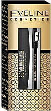 Parfumuri și produse cosmetice Set - Eveline Cosmetics (mascara/10ml+eyeliner/1.2g)
