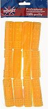 Parfumuri și produse cosmetice Bigudiuri 20/65 mm, galben - Ronney Professional Hollow Magntic Rollers