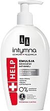 Parfumuri și produse cosmetice Spumă pentru igiena intimă - AA Intimate Help+