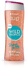 """Parfumuri și produse cosmetice Gel-scrub pentru corp """"Wild Tropics"""" - Silcare Quin Peeling Wild Tropics"""