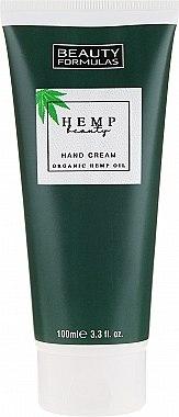 Крем для рук с конопляным маслом - Beauty Formulas Hemp Beauty Oil Hand Cream — фото N1
