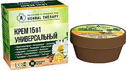 """Parfumuri și produse cosmetice Cremă """"Universală"""" 15 în 1 pe bază de 16 plante medicinale - ECO Laboratorie Herbal Therapy"""