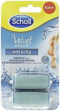 Parfumuri și produse cosmetice Rezerve sistem electronic pentru pila electronică - Scholl Velvet Smooth Wet&Dry