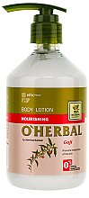 Parfumuri și produse cosmetice Loțiune de corp nutritivă cu extract de goji - O'Herbal Nourishing Lotion