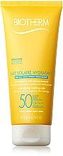 Parfumuri și produse cosmetice Cremă pentru față și corp cu protecție solară - Biotherm Lait Solaire Hydratant SPF 50