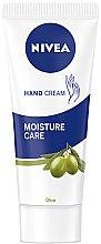 Parfumuri și produse cosmetice Cremă de mâini - Nivea Hand Cream Moisture Care Olive