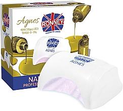 Духи, Парфюмерия, косметика Лампа для ногтей LED, белая - Ronney Profesional Agnes LED 48W (GY-LED-032)