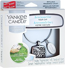 Parfumuri și produse cosmetice Odorizant pentru maşină - Yankee Candle Clean Cotton Square