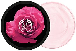 Parfumuri și produse cosmetice Ulei de corp - The Body Shop British Rose Instant Glow Body Butter