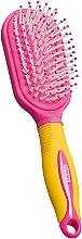 Parfumuri și produse cosmetice Pieptene de păr pentru copii, galben-roz - Titania