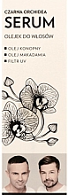 """Parfumuri și produse cosmetice Ser-ulei pentru păr """"Orhidee Neagră"""" - WS Academy Black Orchid Serum Oil"""