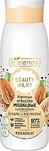 Parfumuri și produse cosmetice Lapte de baie și duș - Bielenda Beauty Milky Regenerating Almond Shower & Bath Milk