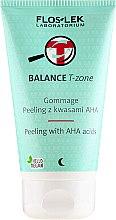 Parfumuri și produse cosmetice Peeling cu acizi, pentru față - Floslek Balance T-Zone Gommage Peeling With AHA Acids