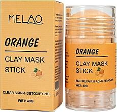 """Parfumuri și produse cosmetice Mască-stick pentru față """"Orange"""" - Melao Orange Clay Mask Stick"""