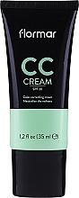 Parfumuri și produse cosmetice CC cremă împotriva petelor roșii - Flormar CC Cream Anti-Redness