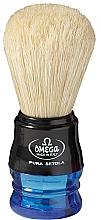 Parfumuri și produse cosmetice Pămătuf de ras, 10077, albastru - Omega