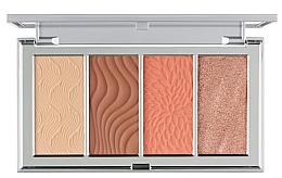Parfumuri și produse cosmetice Paletă contur pentru față - PUR 4-In-1 Skin Perfecting Powders Face Palette