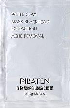 """Parfumuri și produse cosmetice Mască de față """"Argilă albă"""" - Pil'Aten White Clay Mask Blackhead Extraction Acne Removal (mostră)"""