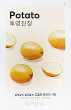 Parfumuri și produse cosmetice Mască de față - Missha Airy Fit Sheet Mask Potato